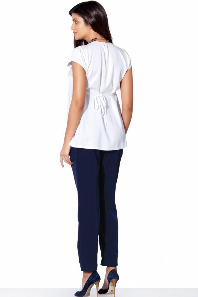Блузка для беременных 01397 белый