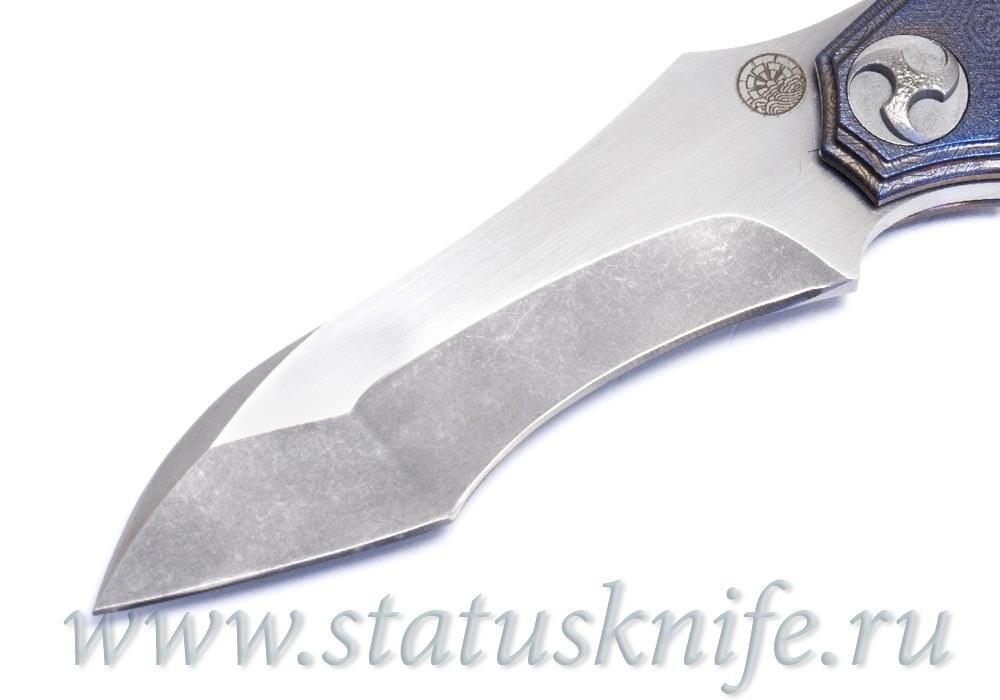 Нож Glenn Waters Custom One Off Titan Flipper - фотография