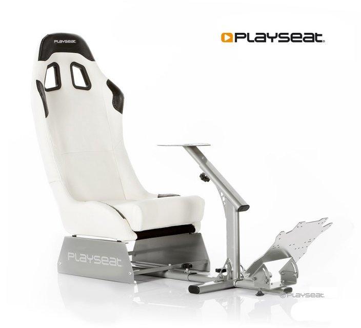 Игровое гоночное кресло Playseat Evolution White