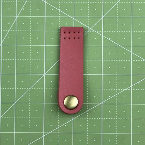 Ремешок для кошелька на кнопке 7,5 см. (розовый)