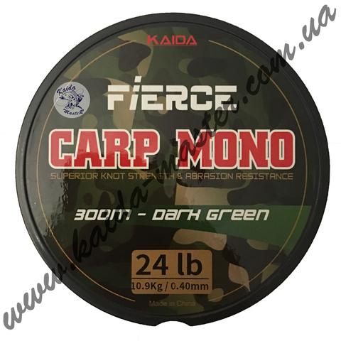 Леска зелёная  Kaida Carp Mono 300м.