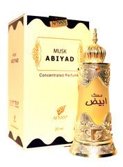 Духи натуральные масляные MUSK ABIYAD / Муск Абияд / жен / 20мл / ОАЭ/ Afnan Perfumes