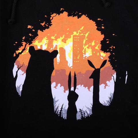 BURN BURN BURN / худи