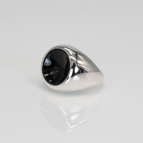 Кольцо TOUCH - Черный оникс