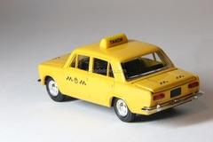 VAZ-2101 Lada Taxi yellow Agat Mossar Tantal 1:43