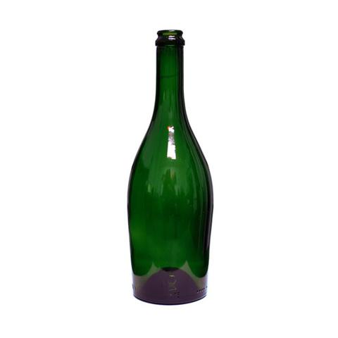 Бутылка для шампанского и игристых вин «Астра» 0,75 л, 9 шт (зеленое стекло)