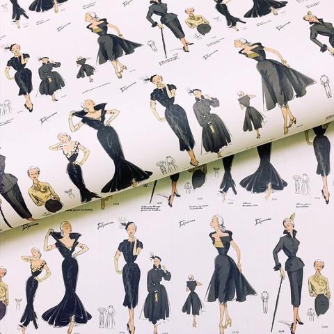 Бумага декоративная подарочная Высокая мода