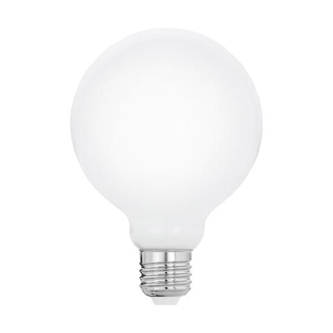 Лампа  LED филаментная из опалового стекла  Eglo MILKY LM-LED-E27 8W 806Lm 2700K G95 11601