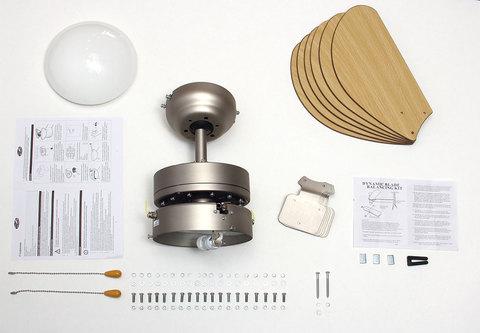 Потолочный люстра-вентилятор Dreamfan Smart 76