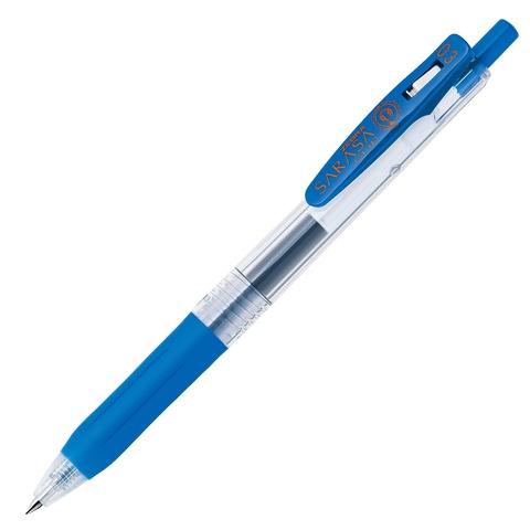 Ручка гелевая Zebra Sarasa Clip 0.3 кобальтовая ярко-синяя / Cobalt Blue