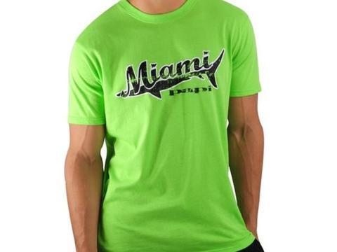 Мужская футболка зеленая PAPI Miami