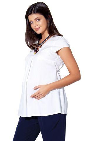 Блузка для беременных 01397 экри