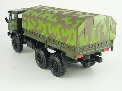 KAMAZ-4310 camouflage Elecon 1:43