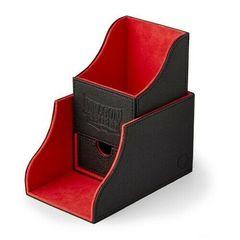 Dragon Shield - Чёрно-красная коробочка Nest+ с отделением для кубиков (100 карт)