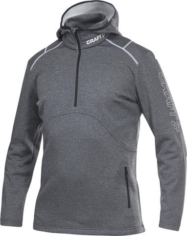 Толстовка Craft Active Logo Hood черная