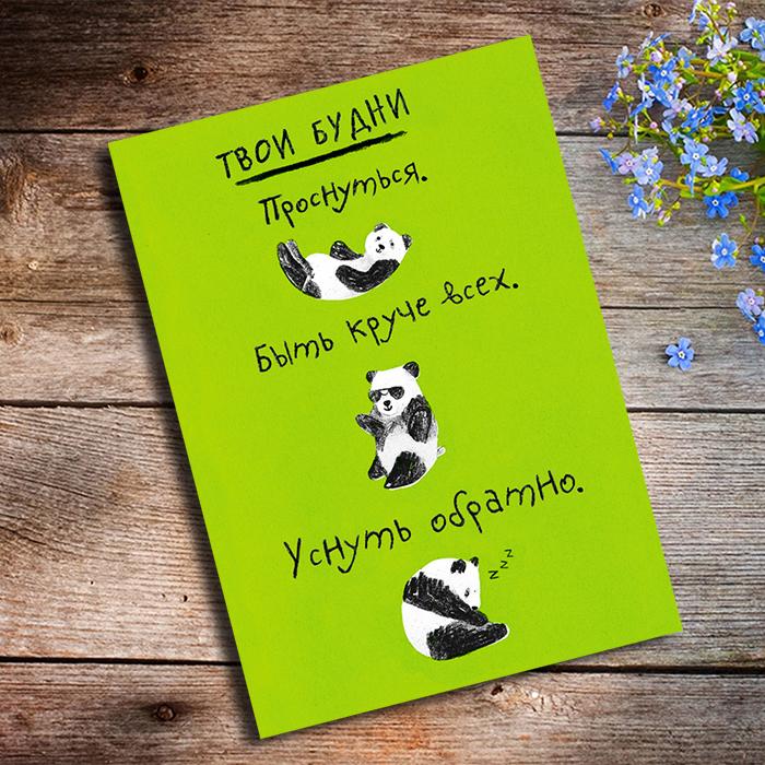 ТВОИ БУДНИ Купить оригинальную открытку в Перми