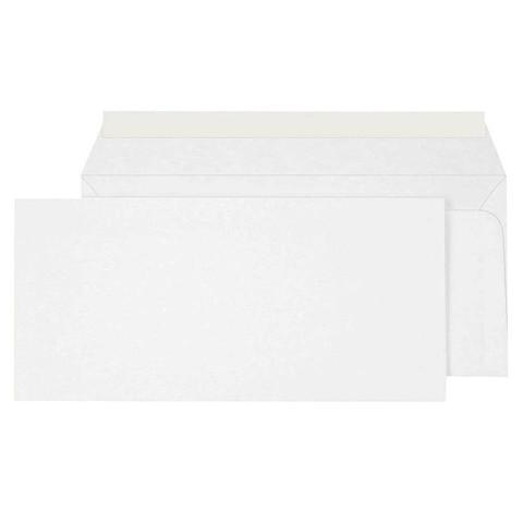 Конверт Ecopost E65 80 г/кв.м белый стрип (1000 штук в упаковке)