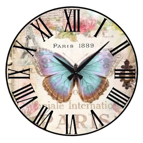 017-6800 Набор для творчества - декупаж с нуля Часы