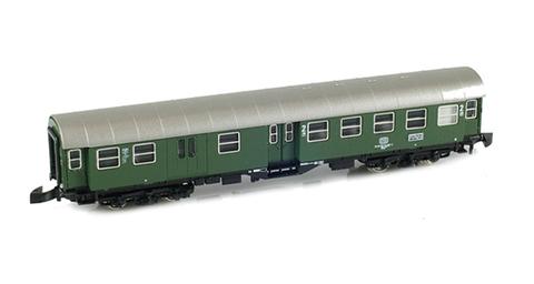 Вагон пассажирский четырехосный переоборудованный 2кл., тип BDyg 533 DB MARKLIN 8755