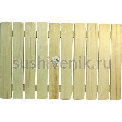 Трапик деревянный на пол 50*80 см