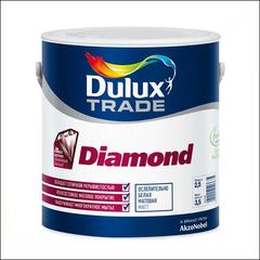 Краска для стен и потолка Dulux Trade Diamond Matt BW (Белый)