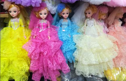 Разноцветные куклы-модели в ассортименте 18 СМ