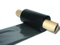 Красящая лента 57мм х 74м х 12мм, Wax OUT (втулка 110 мм с прорезями)