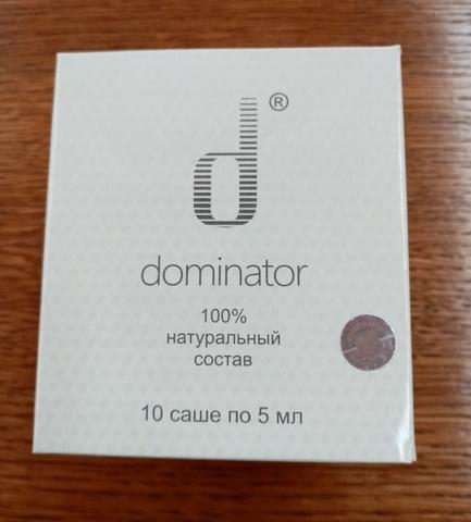 Крем Доминатор, 10 саше*5 мл. (Сашера Мед)