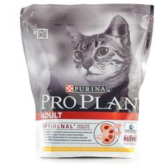 Корм сухой для взрослых кошек Pro Plan с курицей 400г