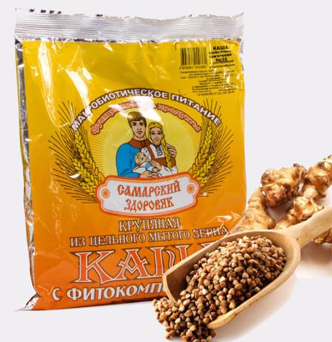 Каша Самарский Здоровяк №1 Пшенично-гречневая