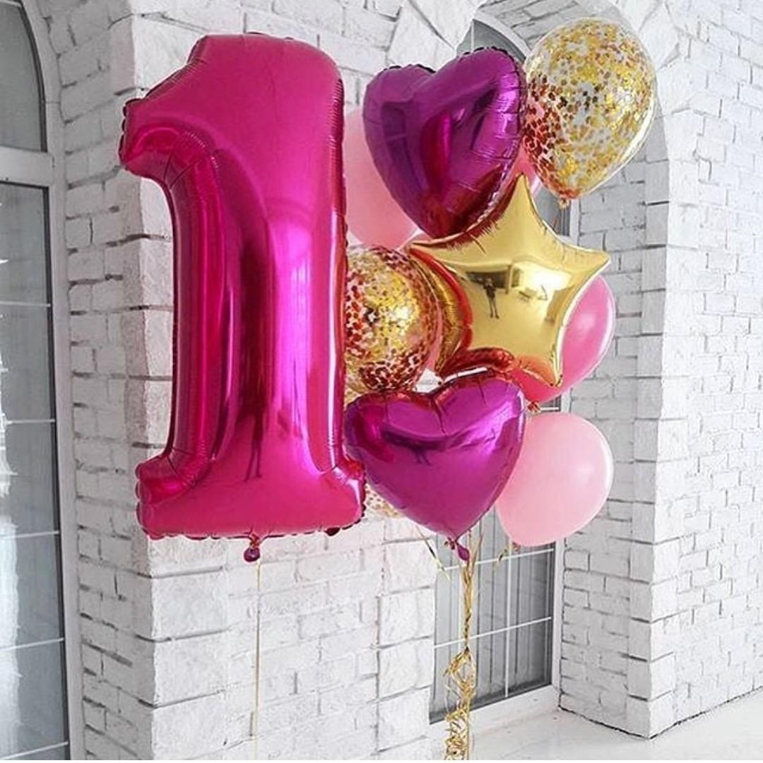 Шары цифры Фонтан из шаров на день рождения с цифрой Фуксия в золоте фксия_с_цифрой.jpg