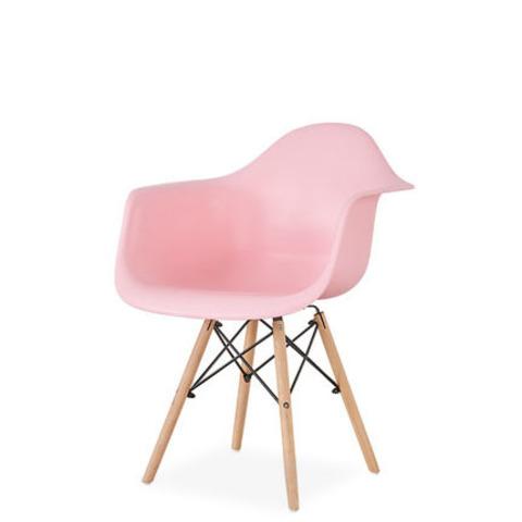 Стул-кресло DAW Eames by Vitra (розовый)