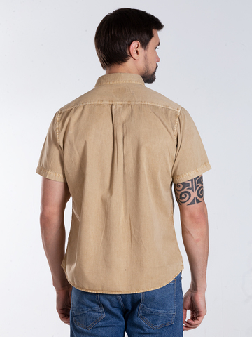 Рубашка к/р муж.  M012-05C-02GR DETROIT