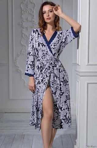 Женский бамбуковый халат  MIA-Amore  MADLEN  МАДЛЕН 6389