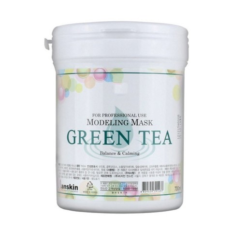 Альгинатная маска с экстрактом зеленого чая ANSKIN Green Tea Modeling Mask