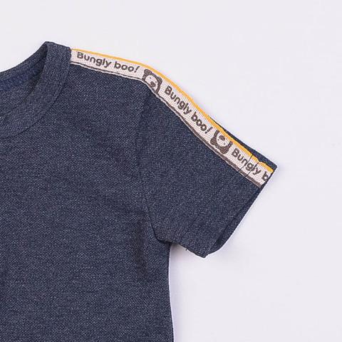 Футболка-поло из ткани пике