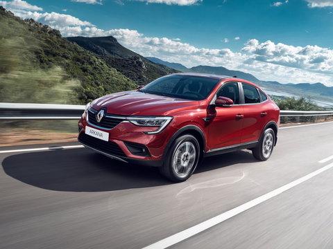 Чехлы на Renault Arkana 2019–2020 г.в.