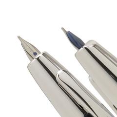 Перьевая ручка Capless Décimo (цвет: Black / Черная; перо золотое 18К, с родиевым покрытием, перо Medium 0,5 мм)