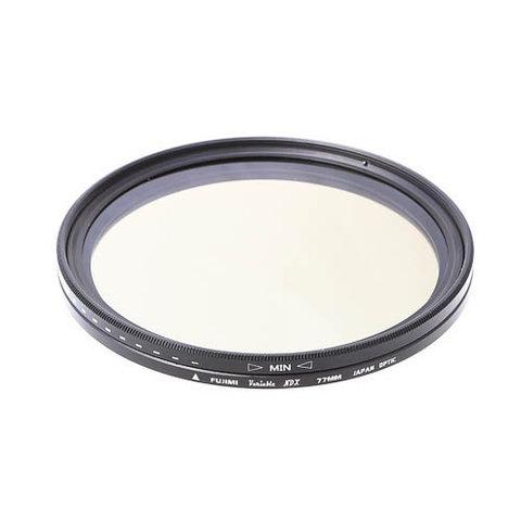 Нейтрально-серый ND фильтр Fujimi Vari-ND ND2-ND400 77mm