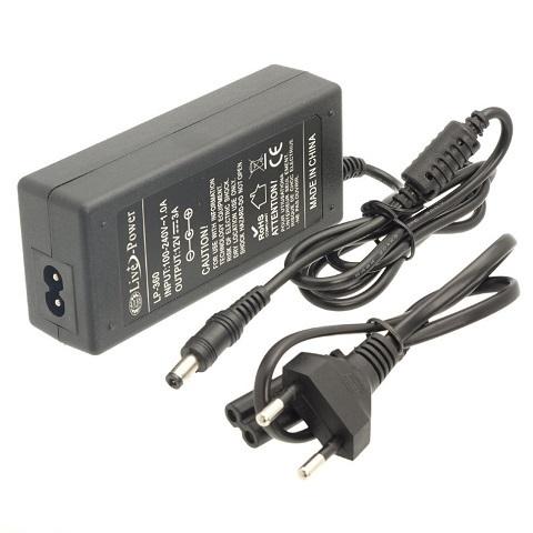 Сетевой адаптер 72Вт, 12В, 6А, IP23