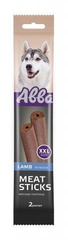 Abba Лакомство для собак мясные палочки с ягненком (2шт.XXL) 1 уп - 180гр