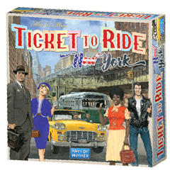 Ticket to Ride Express: New York City 1960