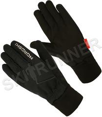 Теплые лыжные перчатки Nordski Arctic Black 2020