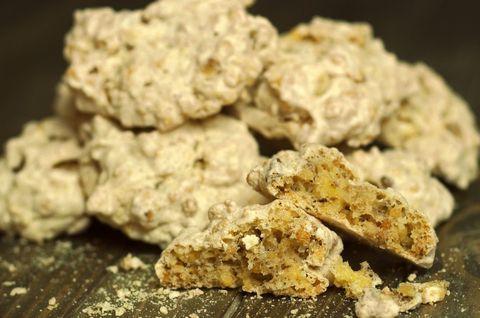 Печенье безе с фундуком без глютена
