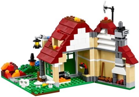 LEGO Creator: Времена года 31038 — Changing Seasons — Лего Креатор Творец Создатель