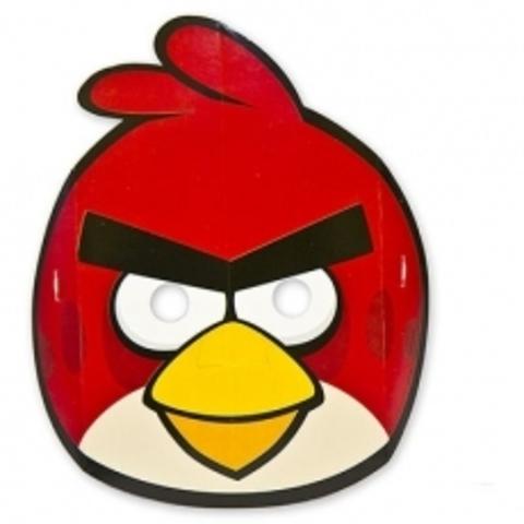 Маска Angry Birds бум 8шт
