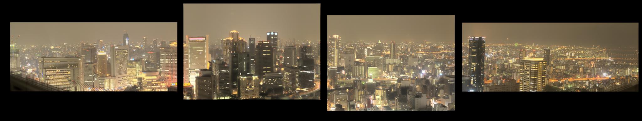 """Города Модульная картина """" Осака Япония """" М629.png"""