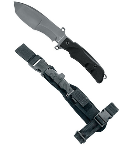 Нож с фиксированным клинком FOX Knives модель 9CM01B TRAKKER - SNIPER