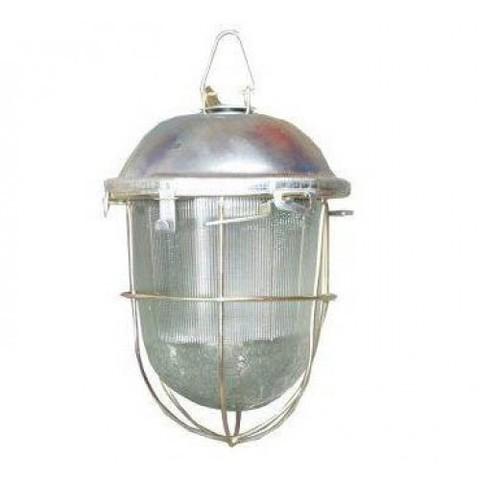 Светильник НСП 02-200-022.01 У2 (с решеткой, стекло, крюк) TDM