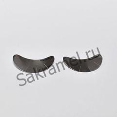 Наклейка под глаза для наращивания ресниц (16 мкр, серебро, 10 пар)